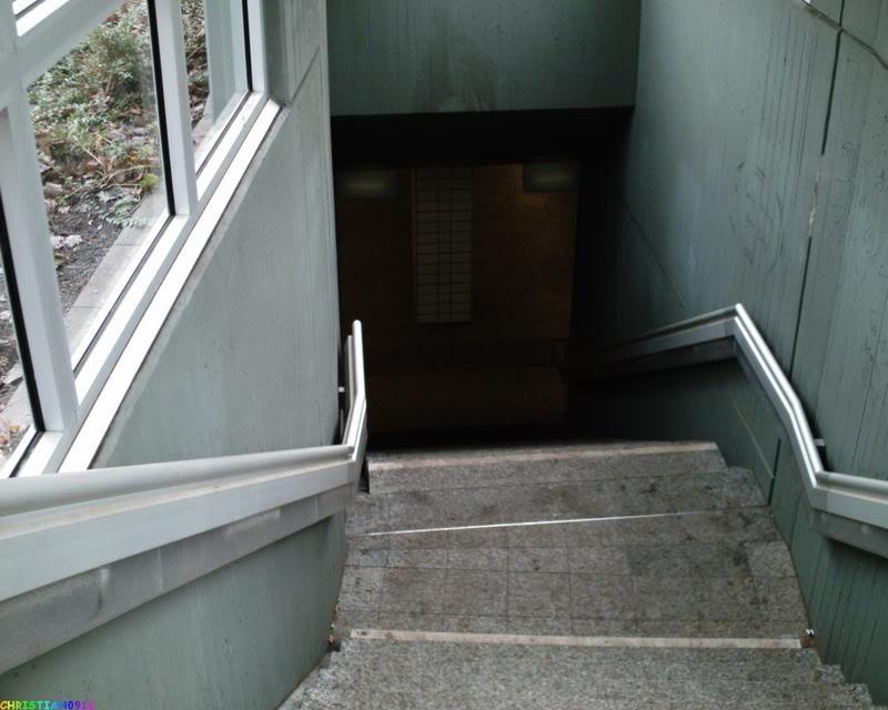 Stufen neuer Zugang